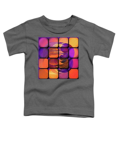 Geo Electric Toddler T-Shirt