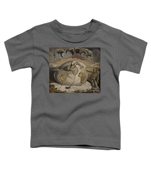Dali's Geopolitical Child Toddler T-Shirt