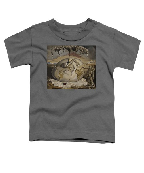 Dali's Geopolitical Child Toddler T-Shirt