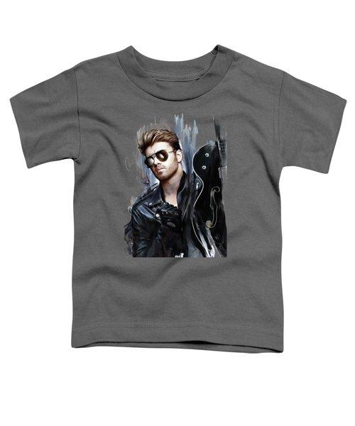 George Michael Singer Toddler T-Shirt