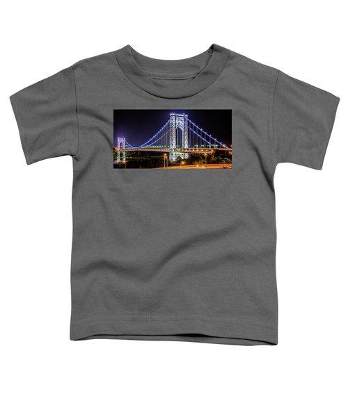 George Washington Bridge - Memorial Day 2013 Toddler T-Shirt