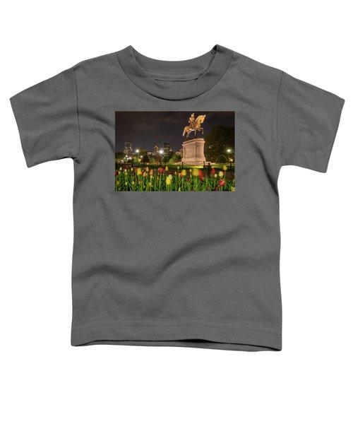 George Washington Standing Guard Toddler T-Shirt