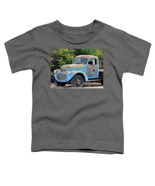 Geraine's Blue Truck Toddler T-Shirt