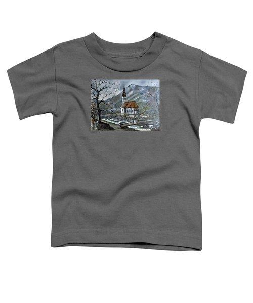 German Church At Ramsau  Toddler T-Shirt