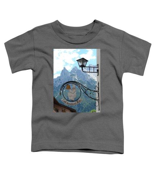 Germany - Cafe Sign Toddler T-Shirt