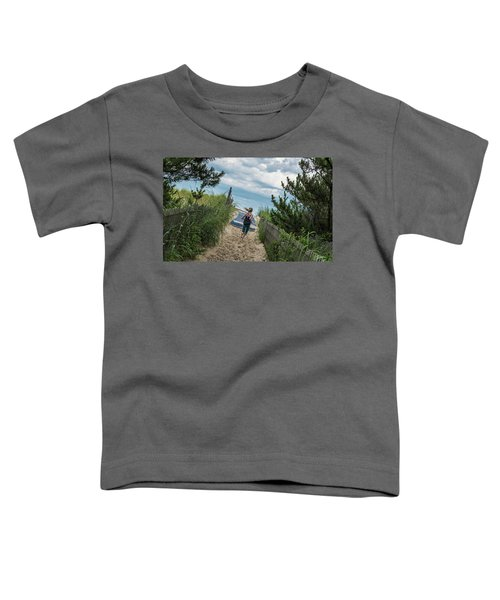 Get To The Beach Toddler T-Shirt