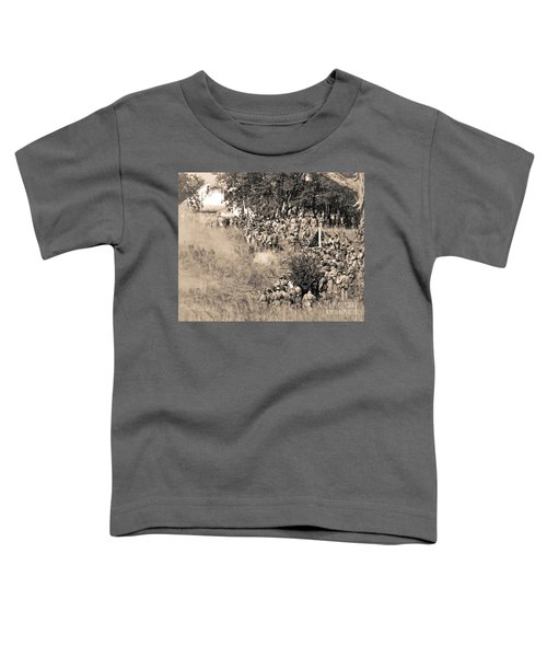 Gettysburg Confederate Infantry 8825s Toddler T-Shirt