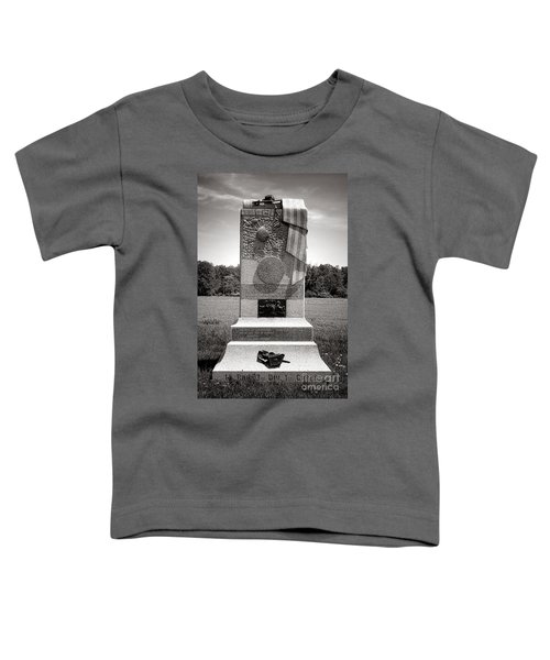 Gettysburg National Park 121st Pennsylvania Infantry Monument Toddler T-Shirt