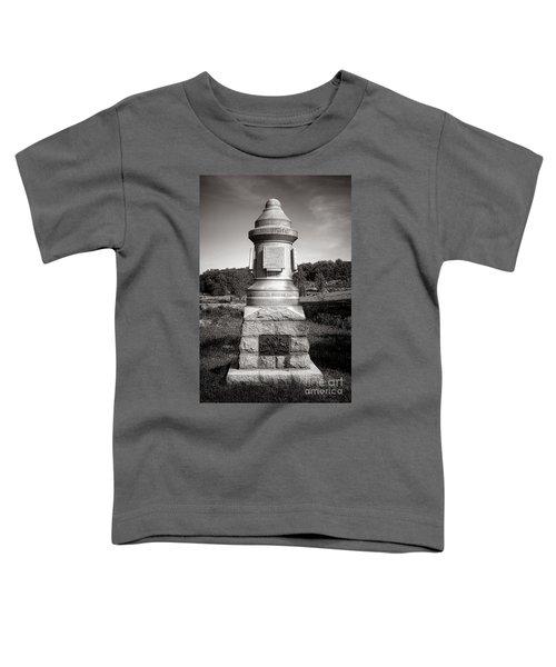 Gettysburg National Park 30th Pennsylvania Infantry Monument Toddler T-Shirt