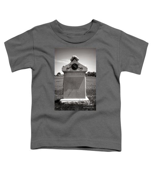 Gettysburg National Park 8th Illinois Cavalry Monument Toddler T-Shirt