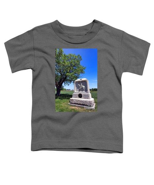 Gettysburg National Park 8th New York Cavalry Memorial Toddler T-Shirt