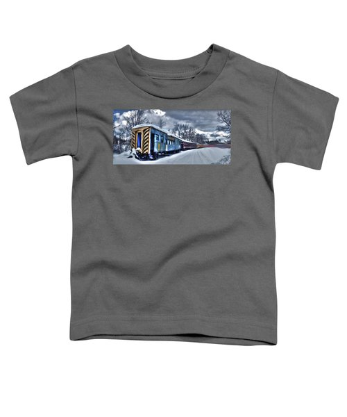 Ghost Train In An Existential Storm Toddler T-Shirt