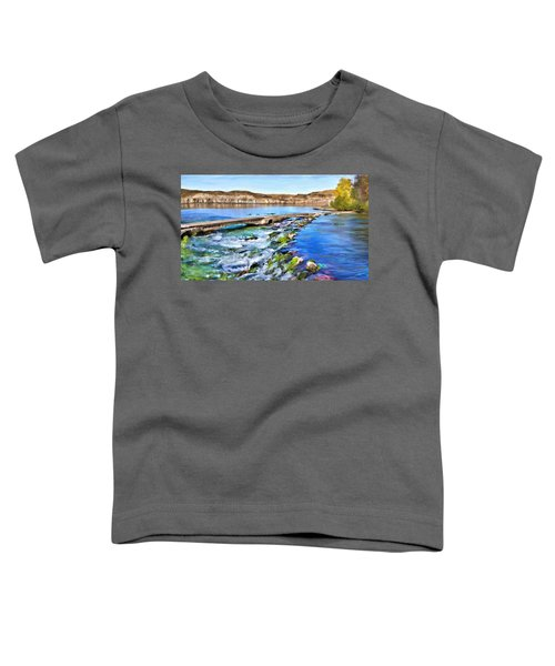 Toddler T-Shirt featuring the digital art Giant Springs 3 by Susan Kinney