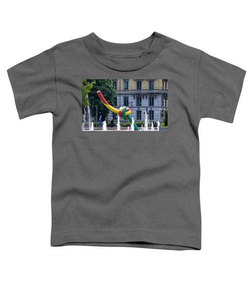 Giant Thread In Milan Toddler T-Shirt