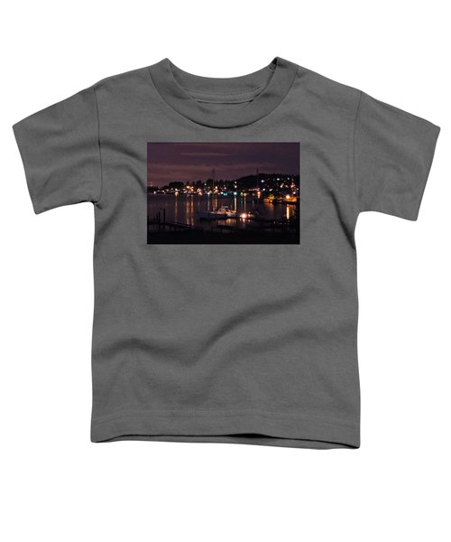 Gig Harbor At Night Toddler T-Shirt