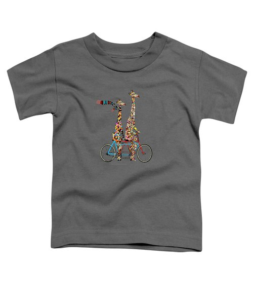 Giraffe Days Lets Tandem Toddler T-Shirt