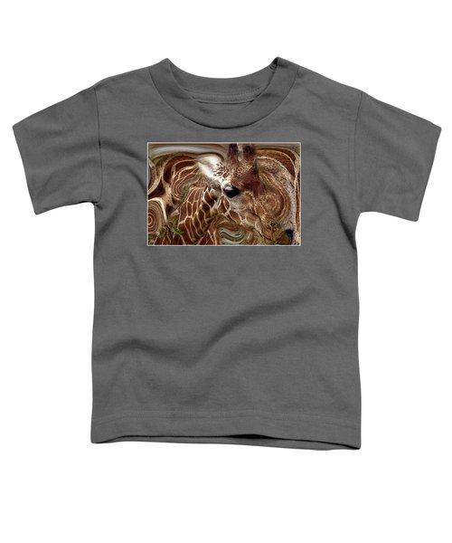 Giraffe Dreams No. 1 Toddler T-Shirt
