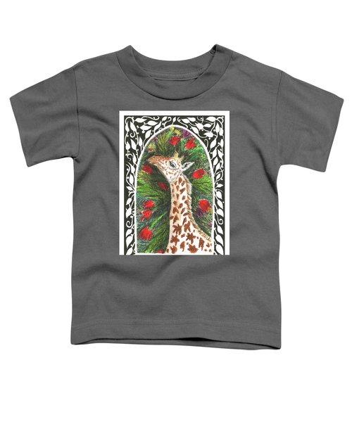 Giraffe In Archway Toddler T-Shirt