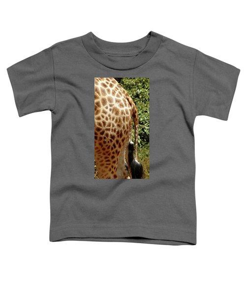Giraffe Tails Toddler T-Shirt