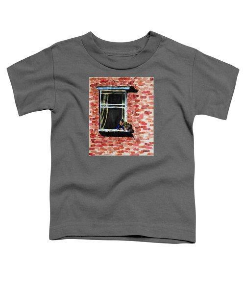 Girl At Window Toddler T-Shirt
