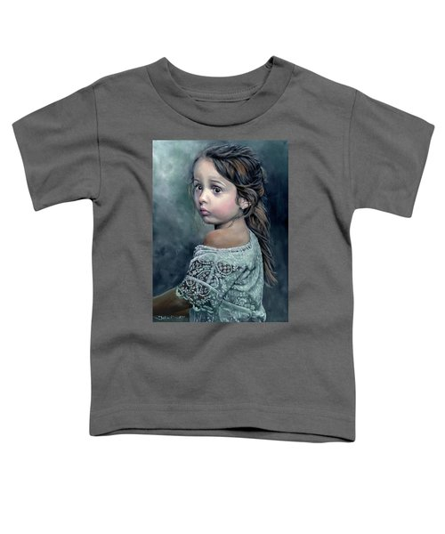 Girl In Lace Toddler T-Shirt