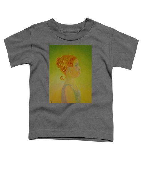 The Girl With The Curl Toddler T-Shirt
