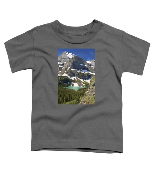 Glacier Backcountry Toddler T-Shirt by Gary Lengyel