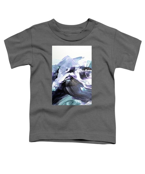 Glacier Mountains Toddler T-Shirt