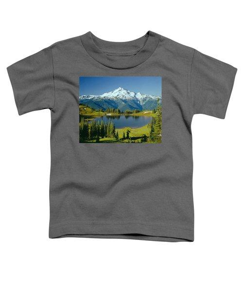 1m4422-glacier Peak, Wa  Toddler T-Shirt