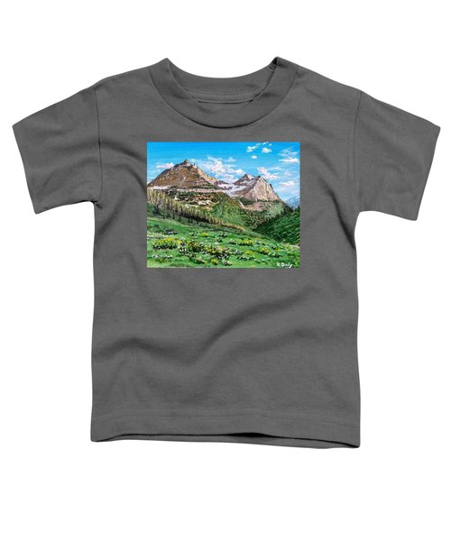 Glacier Summer Toddler T-Shirt