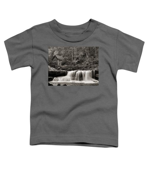 Glade Creek Grist Mill Monochrome Toddler T-Shirt