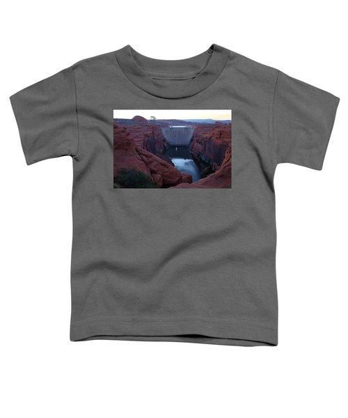 Glenn Canyon Dam Toddler T-Shirt