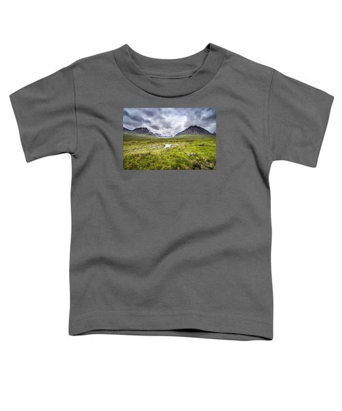 Toddler T-Shirt featuring the photograph Glencoe by Jeremy Lavender Photography