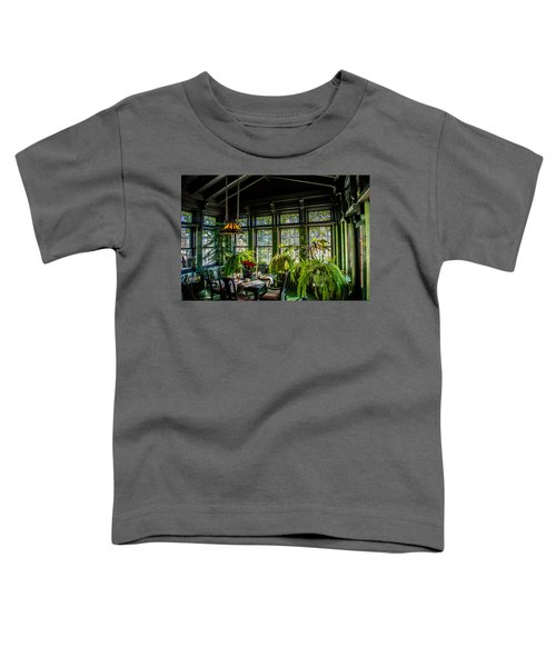 Glensheen Mansion Breakfast Room Toddler T-Shirt by Paul Freidlund