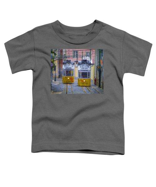 Gloria Funicular Lisbon Toddler T-Shirt