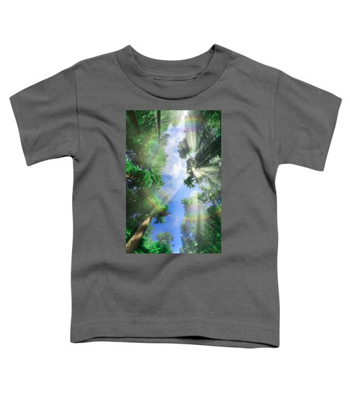 Glory Amongst Redwoods Toddler T-Shirt