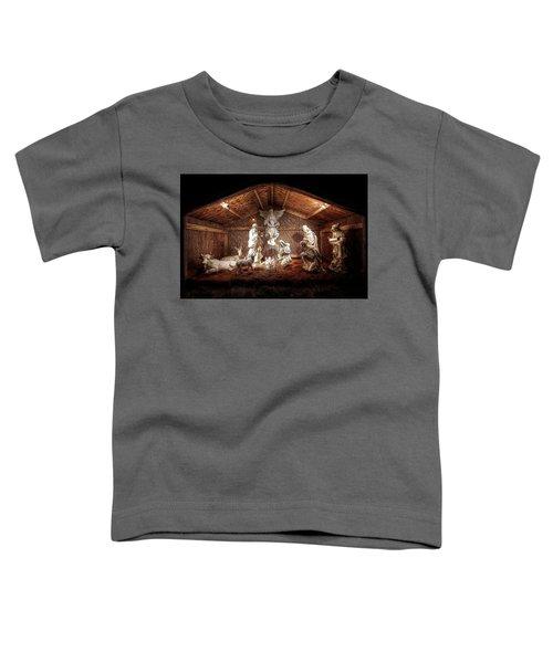 Glory To The Newborn King Toddler T-Shirt