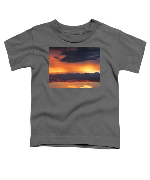 Glowing Clouds Toddler T-Shirt