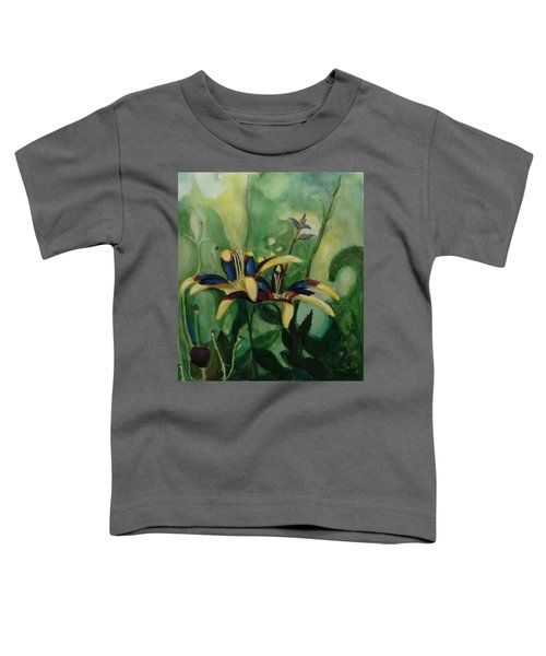 Glowing Flora Toddler T-Shirt