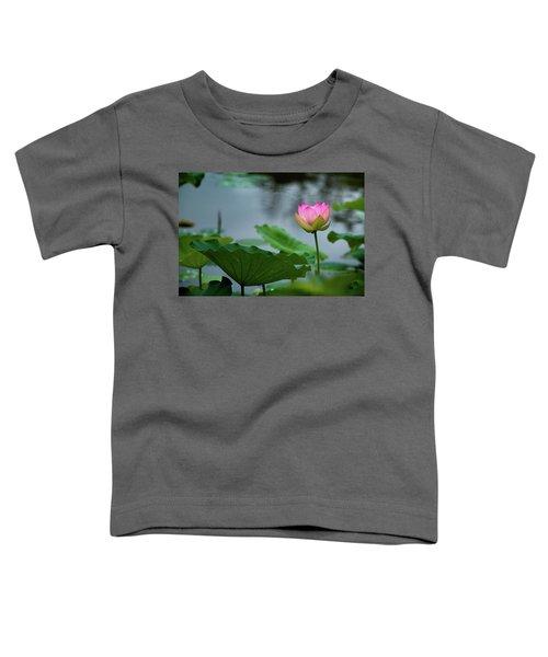 Glowing Lotus Lily Toddler T-Shirt