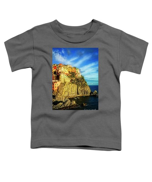 Glowing Manarola Toddler T-Shirt