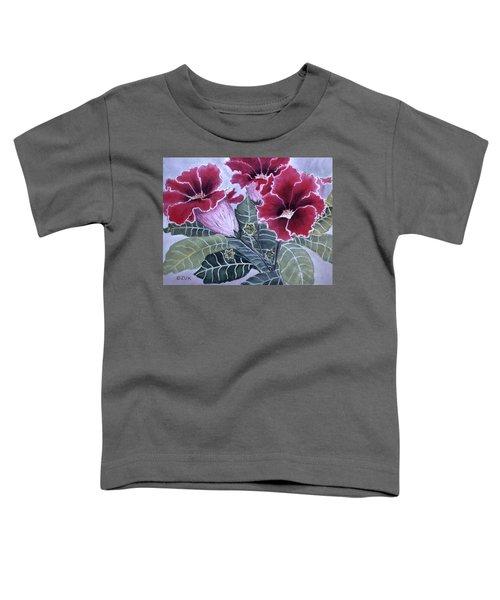 Gloxinias Toddler T-Shirt