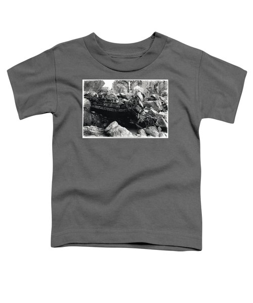 Goat Rock Tractor Jenner California Toddler T-Shirt