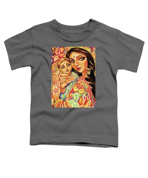 Goddess Blessing Toddler T-Shirt by Eva Campbell