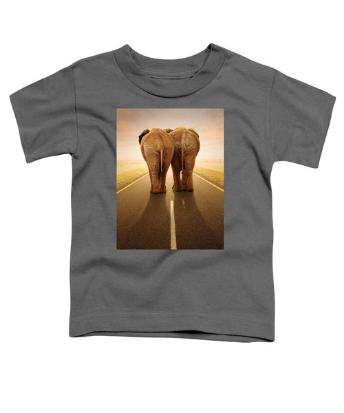 Going Away Together / Travelling By Road Toddler T-Shirt