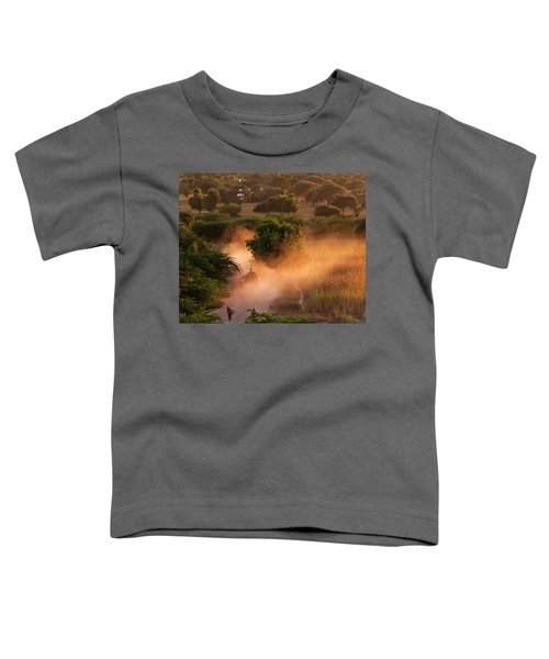 Going Home At Sunset Toddler T-Shirt