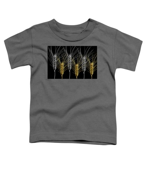 Gold And Silver Wheat Toddler T-Shirt