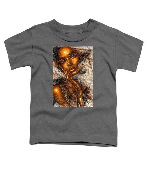 Gold Fingers Toddler T-Shirt