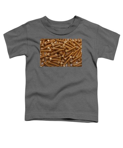 Gold Plated Screws Toddler T-Shirt