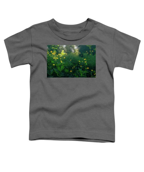 Golden Blooms Toddler T-Shirt